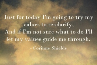Just-for-today-Im-going to try my values to reclarify